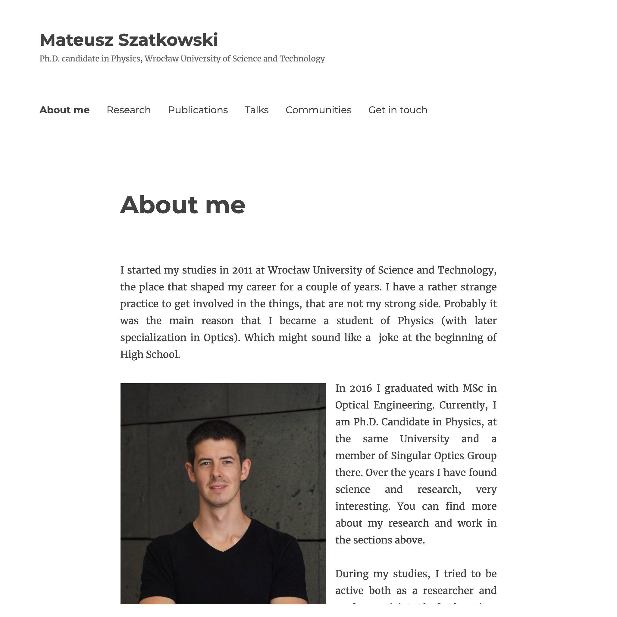 Mateusz szatkowski