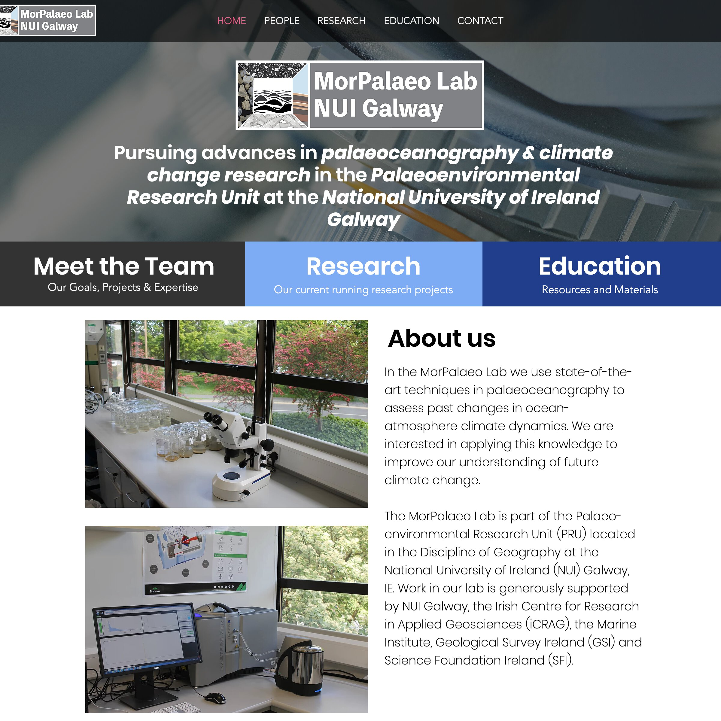Morpalaeo lab