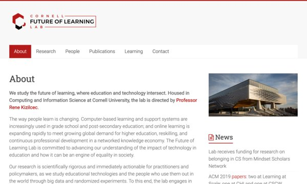Future of learning lab