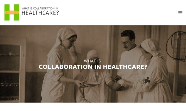 What is collaboration in healthcare